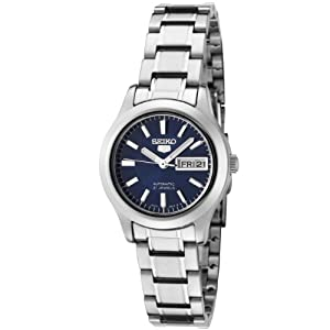 Seiko Unisex-Adult Analogue Classic Automatic Watch with Stainless Steel Strap SYMD93K1