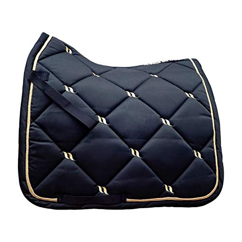 Back on Track® Welltex Nights Collection Saddle Pad Dressage Blue Gr. Full