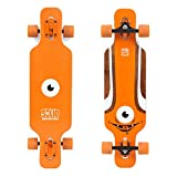 Solid Kid Eye Complete Longboard - Orange by Solid