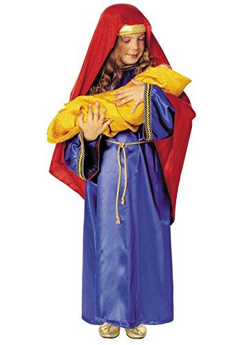 Disfraz Virgen Maria Niña (8 - De 6 a 8 años)