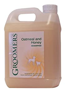 Groomers Oatmeal and Honey Shampoo 2.5 litre from Groomers