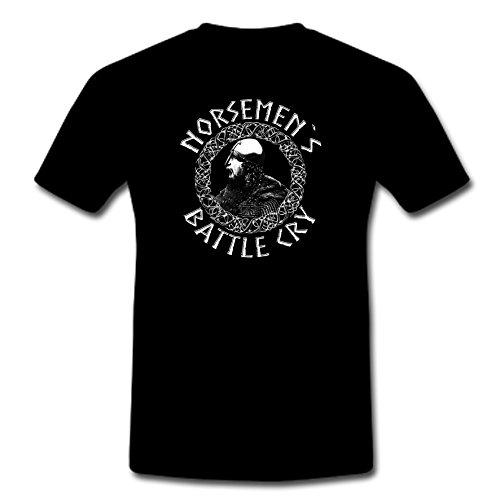 Norse Hammer -  T-shirt - Uomo nero XXXXXL