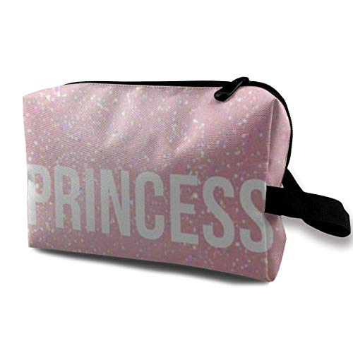 Princess Pink Portable Travel Makeup Cosmetic Bags Organizer Multifunction Case Toiletry Bags -