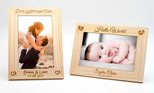 derrahmen 10x15cm | Hochzeit neues Baby Muttertag Geschenk ()