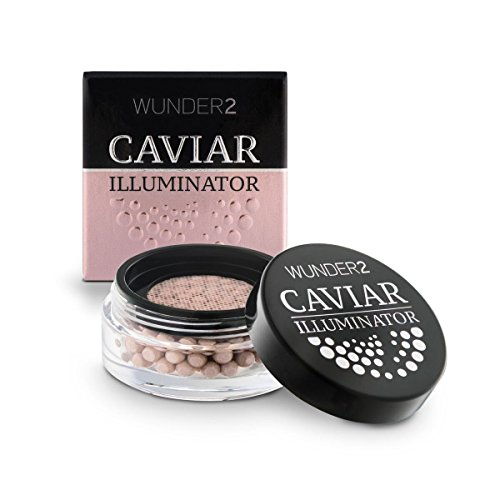WUNDER2 CAVIAR ILLUMINATOR Enlumineur Nacré - Illuminateur Visage Crème Highlighter, Teinte Mother of Pearl