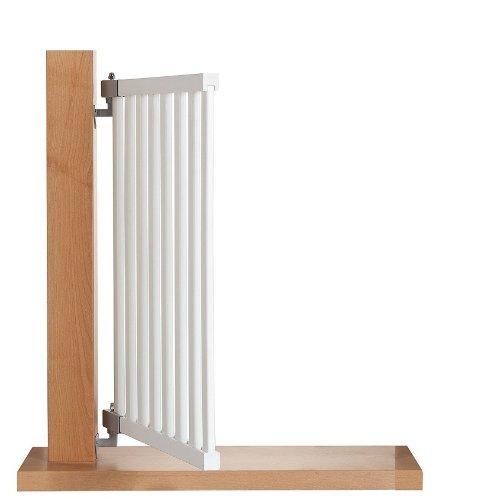 Impag® Treppenschutzgitter Absperrgitter Türschutzgitter Buche Massivholz 65 – 115 cm, Extrahoch 90 cm JW - 6