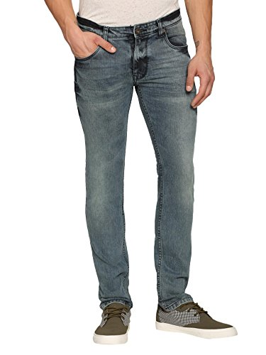 abof Men Blue Skinny Fit Jeans  available at amazon for Rs.473