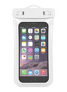 """MOXIE Pochette étanche Blanche pour iPhone 6 (4.7"""") / Galaxy S6"""