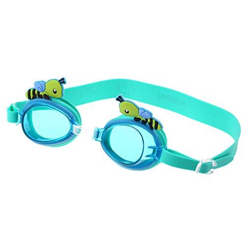 Yorgewd Kinder Schwimmbrille, Schwimmen Schwimmbrille für Kinder Junior Jungen Mädchen Anti Nebel Wasserdicht bequem Schutz kein Leck Brillen
