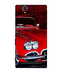 PrintVisa Designer Back Case Cover for Sony Xperia T2 Ultra :: Sony Xperia T2 Ultra Dual SIM D5322 :: Sony Xperia T2 Ultra XM50h (Auto Vechile Drive Vintage Collection Power Wallpaper)