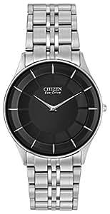 Citizen Men's Eco-Drive Stiletto Stainless Steel Watch #AR3010-57E