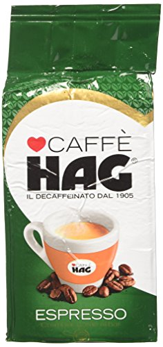 Hag Miscela Di Caffè Decaffeinato Macinato Espresso - 16 Pezzi