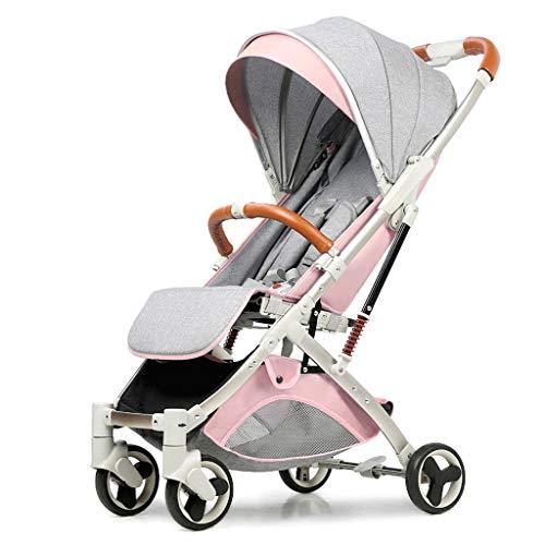 Gute Qualität Kinderwagen Buggys Kinderwagen kann sitzen liegend Ultra leichte tragbare Absorber Kinder Push UmbrellaFolding Shock Baby Standardkinderwagen