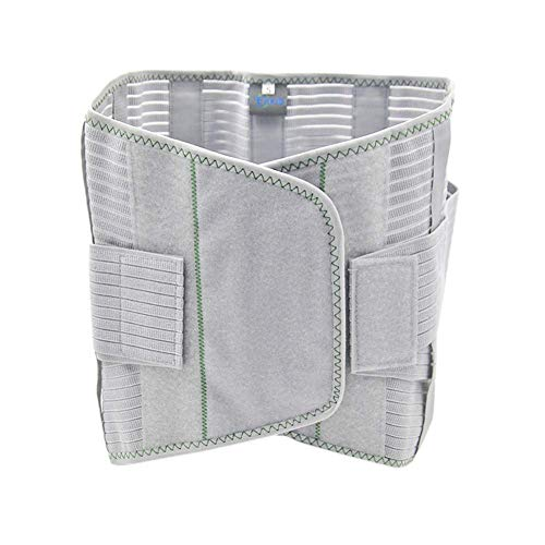 Posture Therapy Lumbar Belt Lower Back Brace and Support Belt Breathable Mesh Panels Dual Adjustable Slip Free Straps Lightweight and Low Profile Under Clothing - Low-profile Back Support