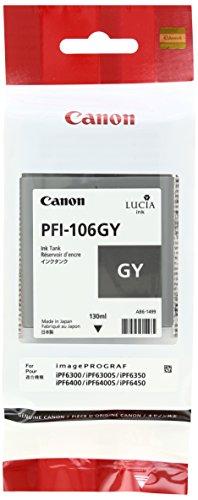 Canon 6630B001 Tintenpatrone PFI-106GY, grau