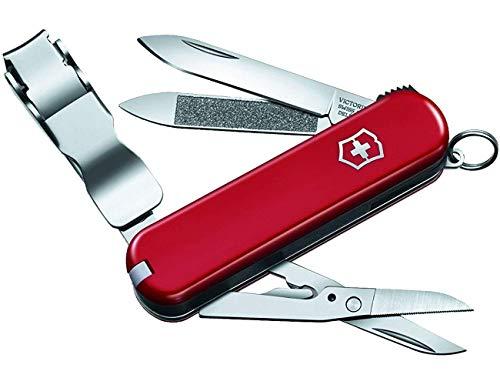 Victorinox Nagelknipser Nail Clip 580 (8 Funktionen, Nagelknipser, Schere) rot