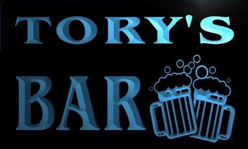 w047200-b TORY Name Home Bar Pub Beer Mugs Cheers Neon Light Sign Barlicht Neonlicht Lichtwerbung