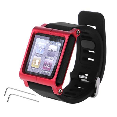 Baodanjiayou Schutzhülle für Apple iPod Nano 6/6. Generation (Aluminium)