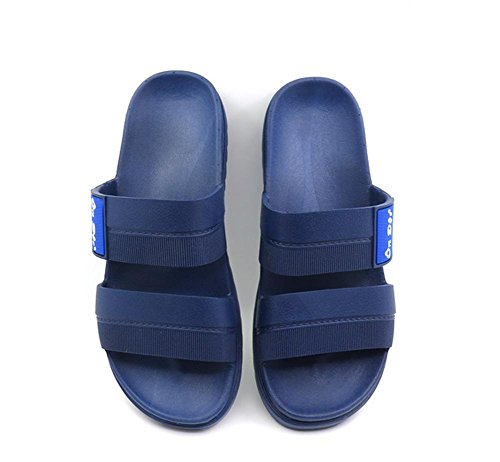 W&XY bains sandales chaussons bains sandales intérieur décontractée maison été antidérapant soled Plate-forme sandales 45