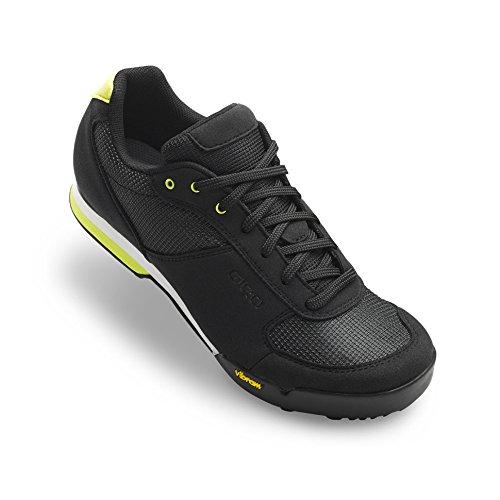 Giro Petra VR MTB, Zapatos de Bicicleta de Montaña para Mujer, (Black/Wild Lime 000), 39.5 EU