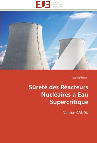 Sûreté des réacteurs nucléaires à eau supercritique par Aziz Abdellahi