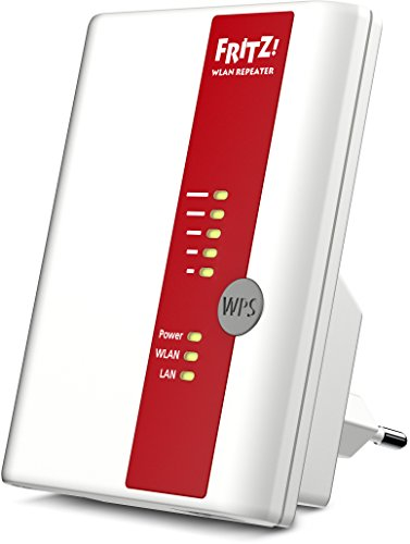AVM FRITZ!WLAN Repeater 450E (450 Mbit/s, Gigabit LAN, WPA2), weiß, deutschsprachige Version