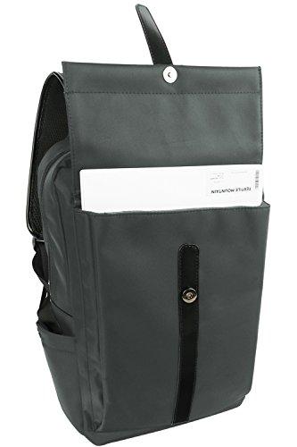 Oflamn Business Laptop Backpack Water Resistant Slim Travel Bag for ... 88347340fbe3b