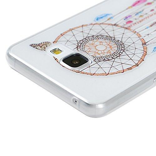Samsung Galaxy A5(2016) Coque - YOKIRIN® TPU Souple Phone Case Coloré pour Samsung A5 2016 - Totem Dream Catcher
