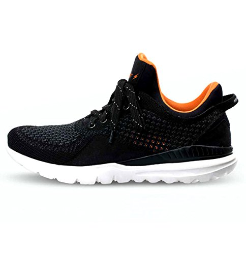 Boltt Men's Smart Black Running Shoes - 8 UK/India (42 EU)(BSSIII0012)
