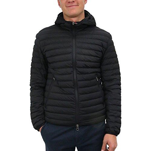 COLMAR Herren Daunenjacke mit Kapuze Schwarz Polyester Daunenjacke 54