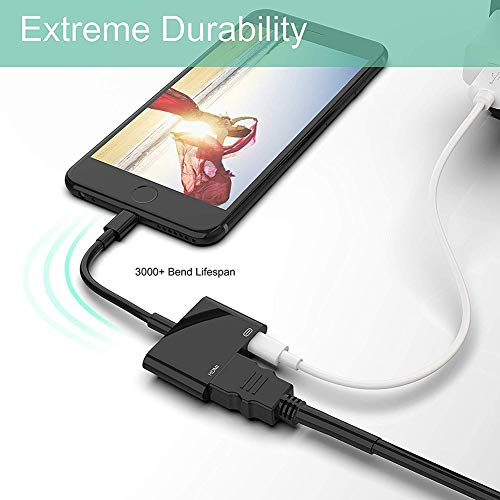 [Get Discount ] Boumten 1080P 8 Pin Lightning to HDMI TV AV Adapter Cable for iPhone X 6S 7 8 Plus iPad 41 2B2iBE  2B1L