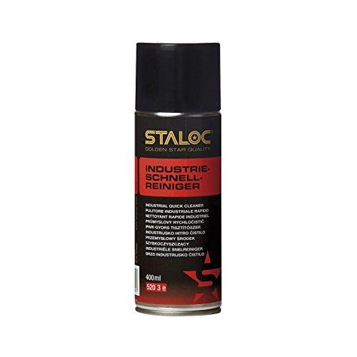 STALOC Industrie-Schnellreiniger | schnell ablüftend | hochwirksam | Reiniger und Entfetter auf Alkoholbasis | 400 - Entfetter-reiniger - Industrie