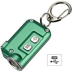 Nitecore TINI Lampe Torche Porte-Cles 380Lm Lampe de Poche Tres Legere 13.4G