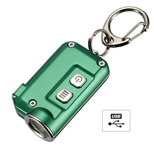 Nitecore TINI Mini Taschenlampe Schlüsselanhänger LED 380Lm USB Wiederaufladbar (Motor-runner)