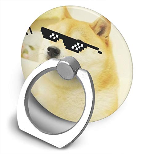 Price comparison product image Fighwy Shiba Inu Cell Phone Ring Holder Universal Smartphone Ring Grip Stand Car Mount 360 Rotation For IPhone,  IPad,  Samsung,  HTC,  Google Pixel,  Nokia,  LG