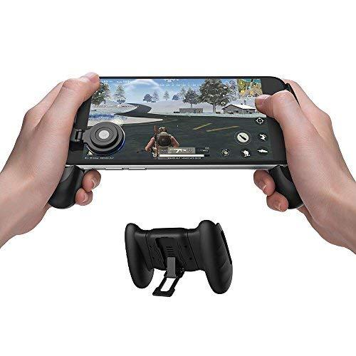 GameSir F1 Mobiler PUBG Controller Griffetui für Smartphones, mobiler Gaming-Griff mit Joystick, Controller Griffhalter Handgriff Joypad mit ergonomischem Design …