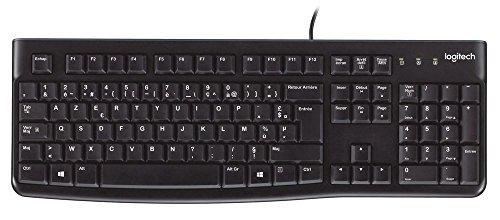 Logitech Keyboard K120 Clavier AZERTY USB - Noir