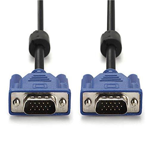Bihood Full HD für Projektoren HDTVs Anzeigen VGA SVGA HD15 Stecker auf Stecker Video Koaxial Monitorkabel mit Ferritkernen