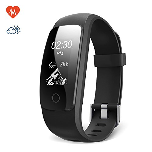 Braccialetto Fitness Activity Tracker, Lemebo Cardiofrequenzimetro...