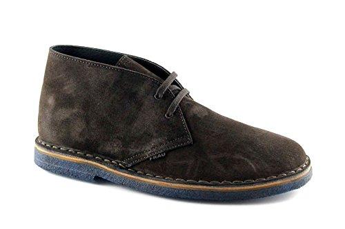 FRAU 25B2 caffè scarpe uomo pedule desert boot 43