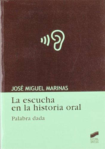 La escucha en la historia oral por José Miguel Marinas Herreras