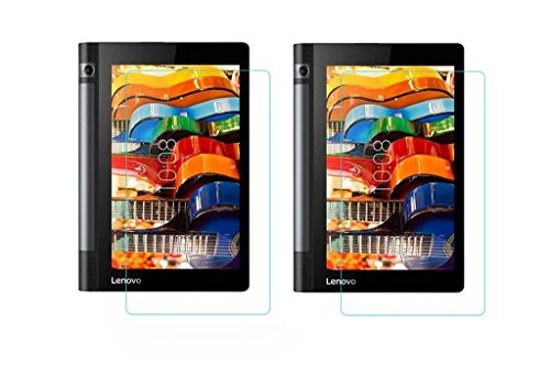 Colorcase  Pack of 2  Tempered Glass for Lenovo Tab 3 Yoga 8.0 Cases   Covers