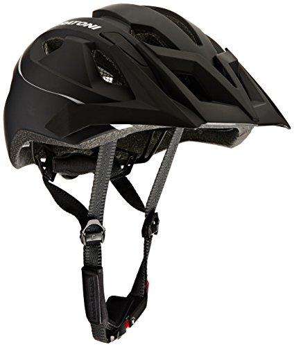 Cratoni Uni AllRide Fahrradhelm AllRide, Black-White Matt, Gr. 53-60 cm (Herstellergröße: UNI)