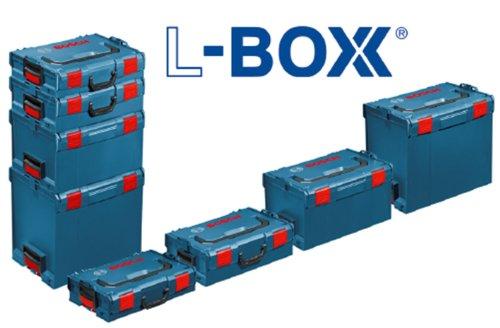 BOSCH L-Boxx 102 Set, 12-teilig, 445 x 357 x 117 mm, 2608438022 - 12