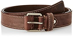 Allen Solly Mens Belt (ASBLT317190 XL_Brown)