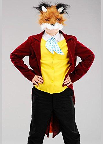 Fantastisch Kostüm Fox - Magic Box Int. Kinder Deluxe Fantastisches Mr Fox Kostüm XL (12-14 Years)