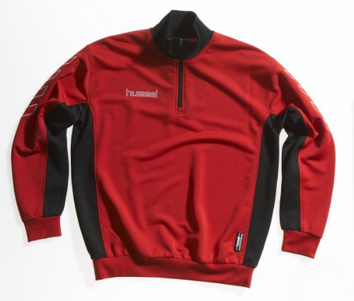 Hummel-Felpa Europe (True Red/Black)