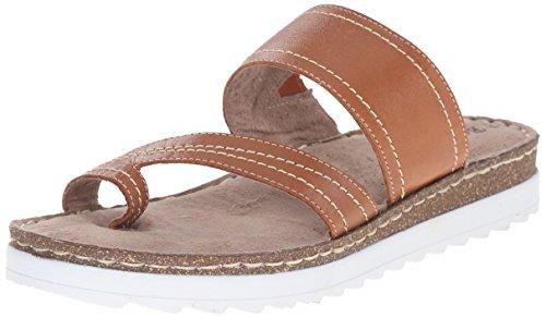 Bella Vita Tivoli Cuir Sandale Tan