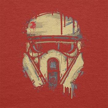 TEXLAB - Trooper Helmet Painting - Herren T-Shirt Rot