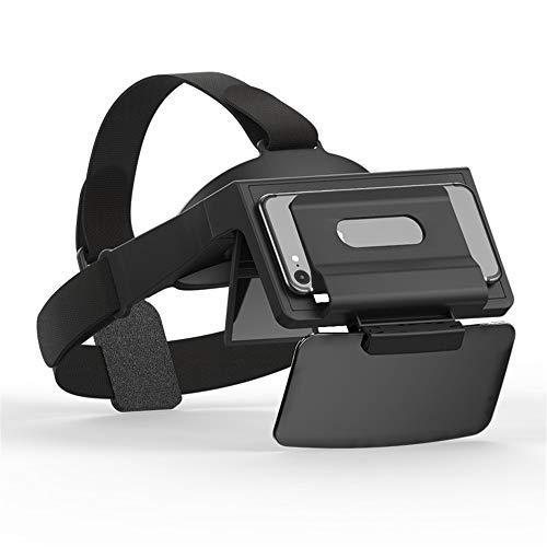 ILYO Eine tragbare Virtual-Reality-Brille, 69 ° FOV mit Augenschutz, 3D-Spielkopfhelm
